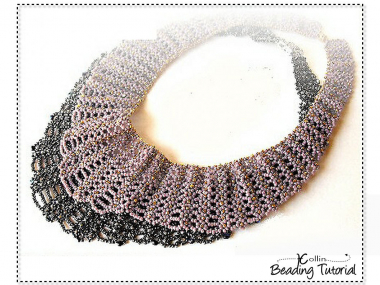 RAW Necklace Beading Pattern