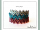 CRAW Zig Zag Bangle Beading Pattern