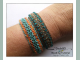 Peyote Stitch Bracelet Beading Pattern Tutorial