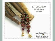 Beading Pattern Tutorial CRAW Earring Beading Patterns by Heather Collin