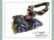 ADVANCED LEVEL Beading Pattern & Tutorial Peyote Stitch Herringbone Necklace