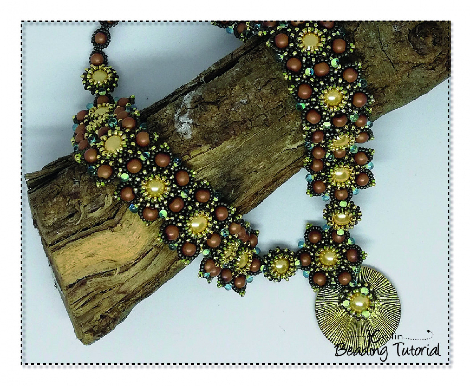 Beading Patterns, Tutorials, Big Beaded Necklace - FANCY THAT