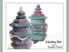 Beading Patterns, Tutorials, Peyote Stitch Box, Geometric Beadwork - WEDDING BOX
