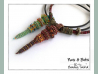 Beading Patterns, Tutorials, CRAW Pendant with Moveable Parts - NUTS & BOLTS