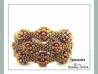 Beading Patterns, Tutorials, CRAW Bauble Cuff - GUINEVERE