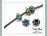 Beading Pattern Beaded Spacer Beads Tutorial - DAISYWHEEL