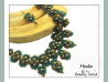 Beading Patterns, Tutorials, RAW Bollywood Necklace - HINDIA