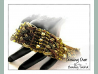 Beading Pattern Plaited Cuff Tutorial - CROSSING OVER