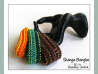 Beading Pattern, CRAW,  Cubic Right Angle Weave Wide Beaded Bangles. Beading Tutorial, Seed Bead Patterns SHANGA BANGLES